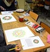 Yantra schilderen
